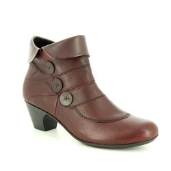 Rieker Fashion Ankle Boots - Wine - 70562-35 SARBOBUT