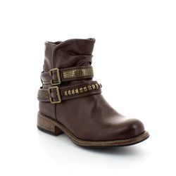 Rieker Boots - Ankle - Brown - 96783-26 AMBIENT