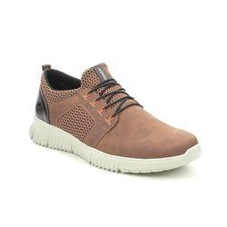 Rieker Casual Shoes - Tan - B7588-24 DELSONA