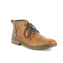 Rieker Boots - Brown - F5512-25 BRAINS