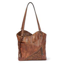 Rieker Handbags - Tan - H1025-22 TOTEM