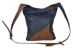 Rieker Handbags - Navy Tan - H1045-14 BODY BAG 85