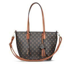 Rieker Handbags - Black tan - H1305-00 REVESAN GRAB