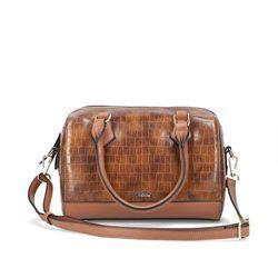 Rieker Handbags - Tan croc - H1321-22 HONEY GRAB