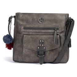 Rieker Handbags - Grey - H1340-45 SHOULDER POM