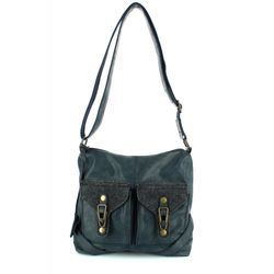 Rieker Handbags - Navy - H1440-16 BACAO 2 POCKET