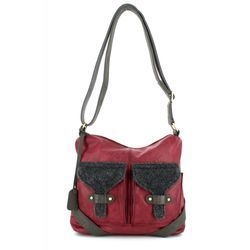 Rieker Handbags - Wine multi - H1440-35 BACAO 2 POCKET