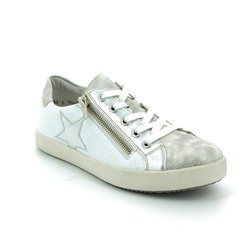 Rieker Girls Shoes - White-silver - K5201-81 KEEST