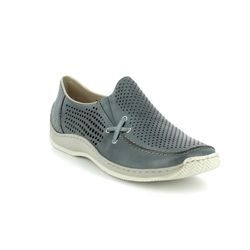 Rieker Comfort Shoes - Denim blue - L1767-13 CELIAPEX