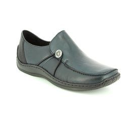 Rieker Comfort Shoes - Navy - L1781-14 CELIA 62