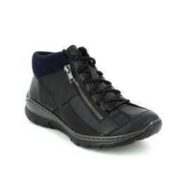 Rieker Boots - Outdoor & Walking - Navy - L3245-14 MEMBOZI