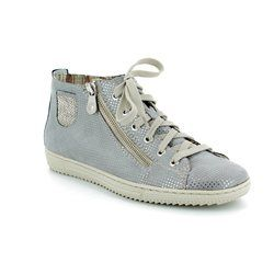 Rieker Boots - Ankle - Light grey multi - L9402-42 TENARO