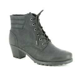 Rieker Boots - Ankle - Black - Y8023-01 GREELACE