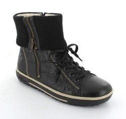 Rieker Boots - Ankle - Black - Z8760-00 TEDCUFF