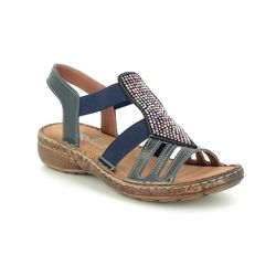 Roselli Comfortable Sandals - Navy - 2019/01 NATALIE