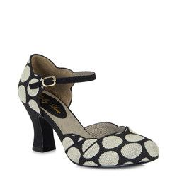 Ruby Shoo Heeled Shoes - Black multi - 09096/30 ANNABEL