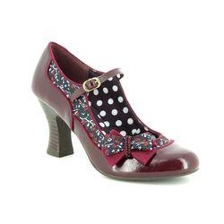 Ruby Shoo Heeled Shoes - Burgundy - 09237/81 CAMILLA