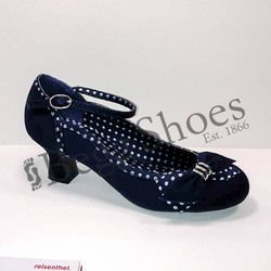 Ruby Shoo Court Shoes - Navy - 09189/70 CORDELIA