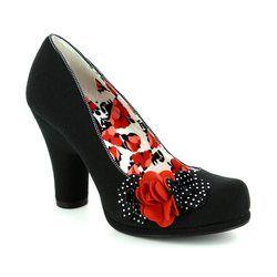 Ruby Shoo Heeled Shoes - Black multi - 08904/30 EVA