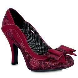 Ruby Shoo Heeled Shoes - Red - 08994/80 IVY
