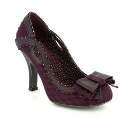 Ruby Shoo Heeled Shoes - Burgundy - 09123/80 IVY