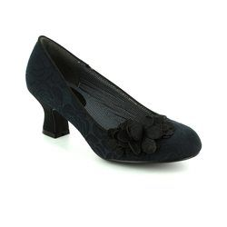 Ruby Shoo Court Shoes - Black - 09133/30 PETRA