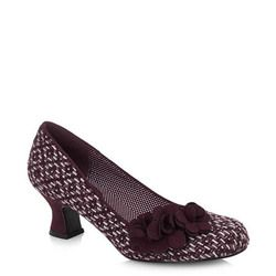 Ruby Shoo Court Shoes - Burgundy - 09133/80 PETRA