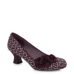 Ruby Shoo Court Shoes - Burgundy - 09133/80 PETRA