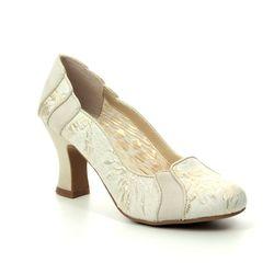 Ruby Shoo Heeled Shoes - Gold Metallic - 09262/26 PRISCILLA
