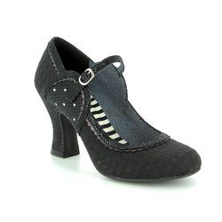 Ruby Shoo Heeled Shoes - Black - 09183/30 ROSALIND