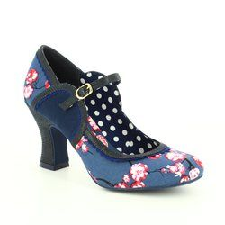 Ruby Shoo Heeled Shoes - Blue multi - 09183/71 ROSALIND
