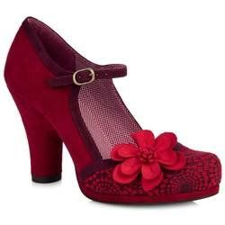 Ruby Shoo Heeled Shoes - Red - 09009/80 TANYA