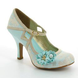 Ruby Shoo Heeled Shoes - Pale blue - 09088/70 YASMIN