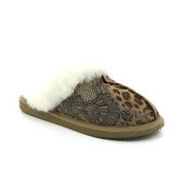 Shepherd of Sweden Slippers & Mules - Leopard print - 046849 JESSICA