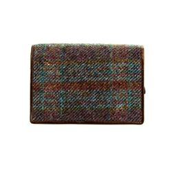 Shetland Tweed Purses & Wallets                        - Purple multi - 3115/90 3115
