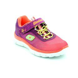 Skechers Girls Trainers - Pink - 08189/8L ALIGN 81898