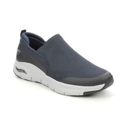 Skechers Trainers - Navy - 232043 ARCH FIT SLIP