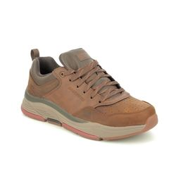 Skechers Casual Shoes - Brown - 66204 BENAGO TRENO