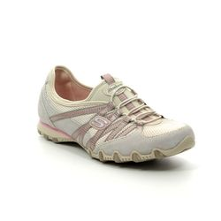 Skechers Trainers - Beige - 21159 BIKERS HOT TICKET