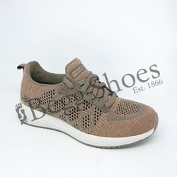 Skechers Trainers - Taupe - 31368/578 BOBS SQUAD