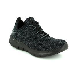Skechers Trainers & Canvas - Black-Grey - 12773/076 BOLD MOVE