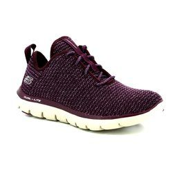 Skechers Trainers - Plum - 12773/383 BOLD MOVE