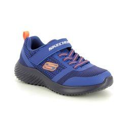 Skechers Boys Trainers - Blue Navy - 98302L BOUNDER ZALLOW