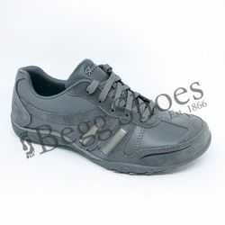 Skechers Comfort Lacing Shoes - GREY - 23013/025 BREATH EASY