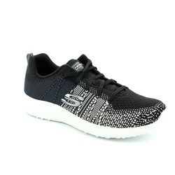 Skechers Trainers - Black - 12437/011 BURST ELLIPSE