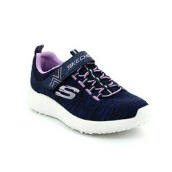 Skechers Girls Shoes - Navy multi - 81906/341 BURST EQUINOX