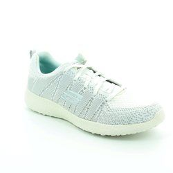 Skechers Trainers & Canvas - White-silver - 12438/144 BURST GLIMPSE