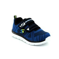 Skechers Boys 1st Shoes & Prewalkers - Navy-Blue - 95052/050 COMFY STEPZ