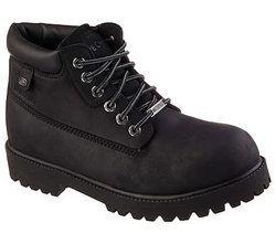 Skechers Boots - Black - 04442 SERGEANTS VERDICT