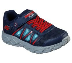 Skechers Boys Trainers - Navy Red - 401530L DYNAMIC FLASH